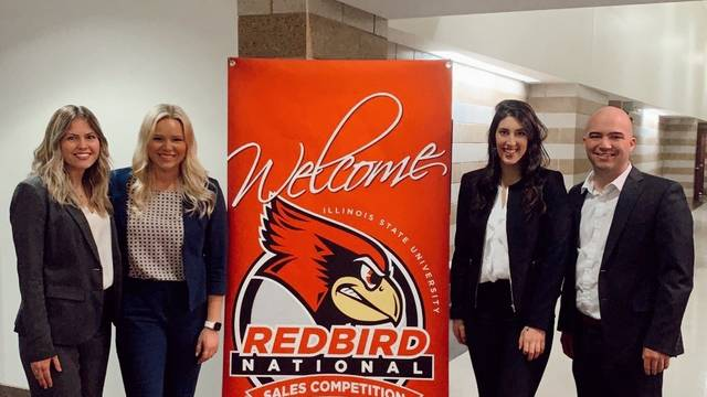 Sales team at Redbird Competition