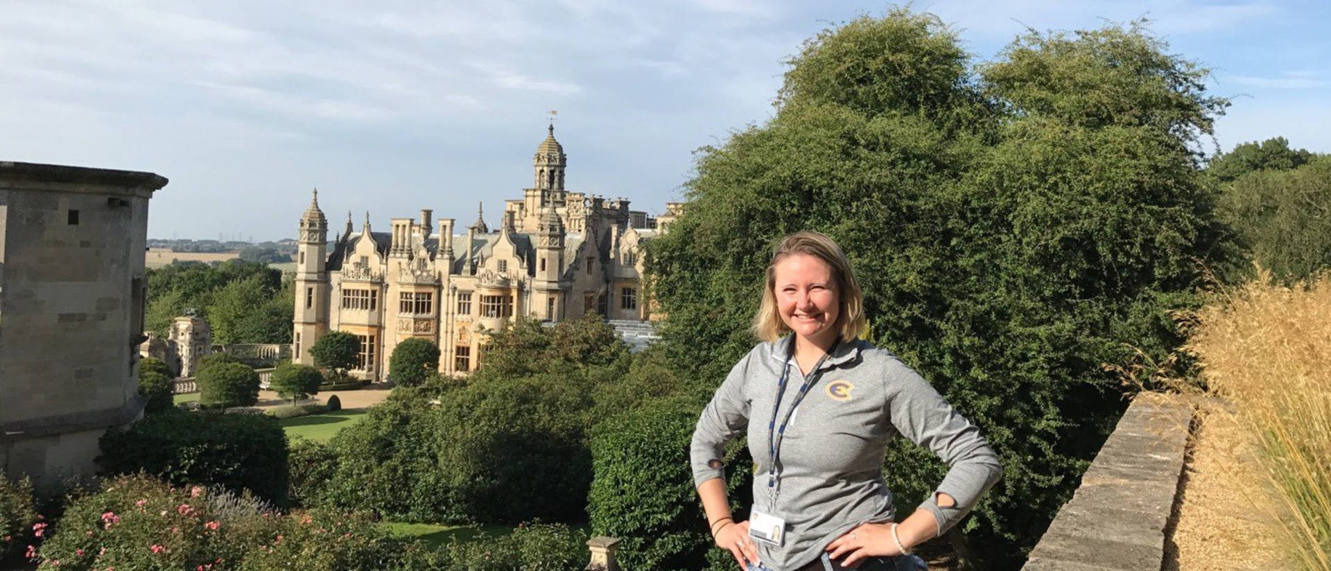 A history class that LeeAnn Przybylski took while studying abroad in England helped her find her passion for international politics.