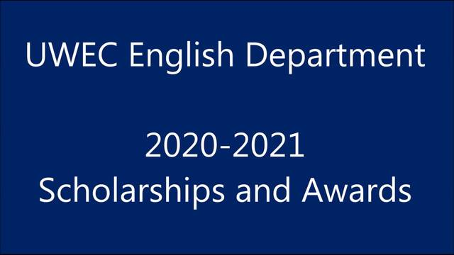 English Spring 2020 Scholarships