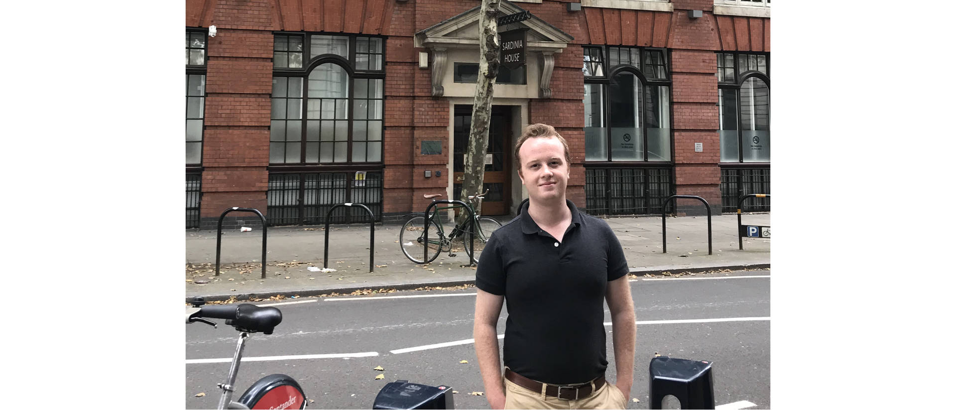 Liam Barnes, a Blugold who is graduating after just two years, spent a summer studying abroad at the London School of Economics.