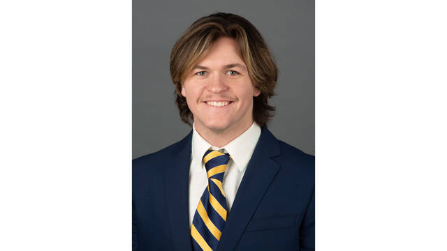 Austin Burzynski is the fifth from his family to graduate from UW-Eau Claire.