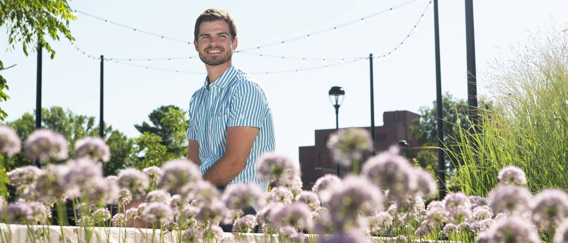 Alex Hintz worked throughout his college years to become more culturally competent and to understand his white privilege. He's eager to share what he's learned with his future students.
