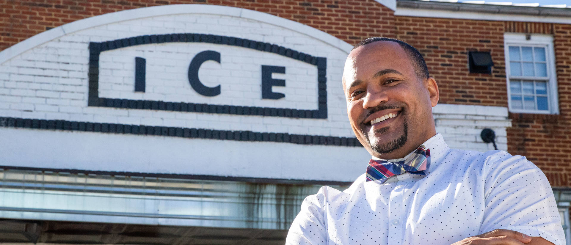 Brandon Byrd, who launched his food truck eight years ago in Washington, D.C., soon will open his first storefront in a historic building in Virginia. (Photo credit: Misha Enriquez for Visit Alexandria)