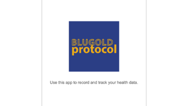 Blugold Protocol Screen Shot 1