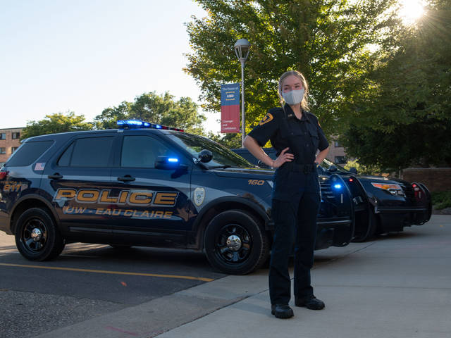 Vanessa Evenson earned her criminal justice degree in May from UW-Eau Claire.