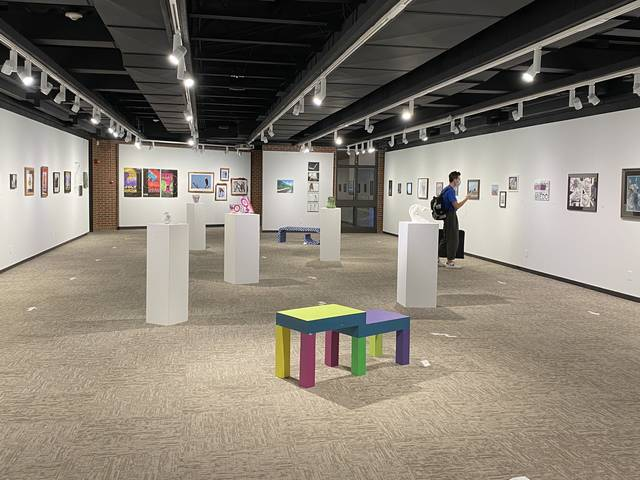 63rd Juried Art show installation image