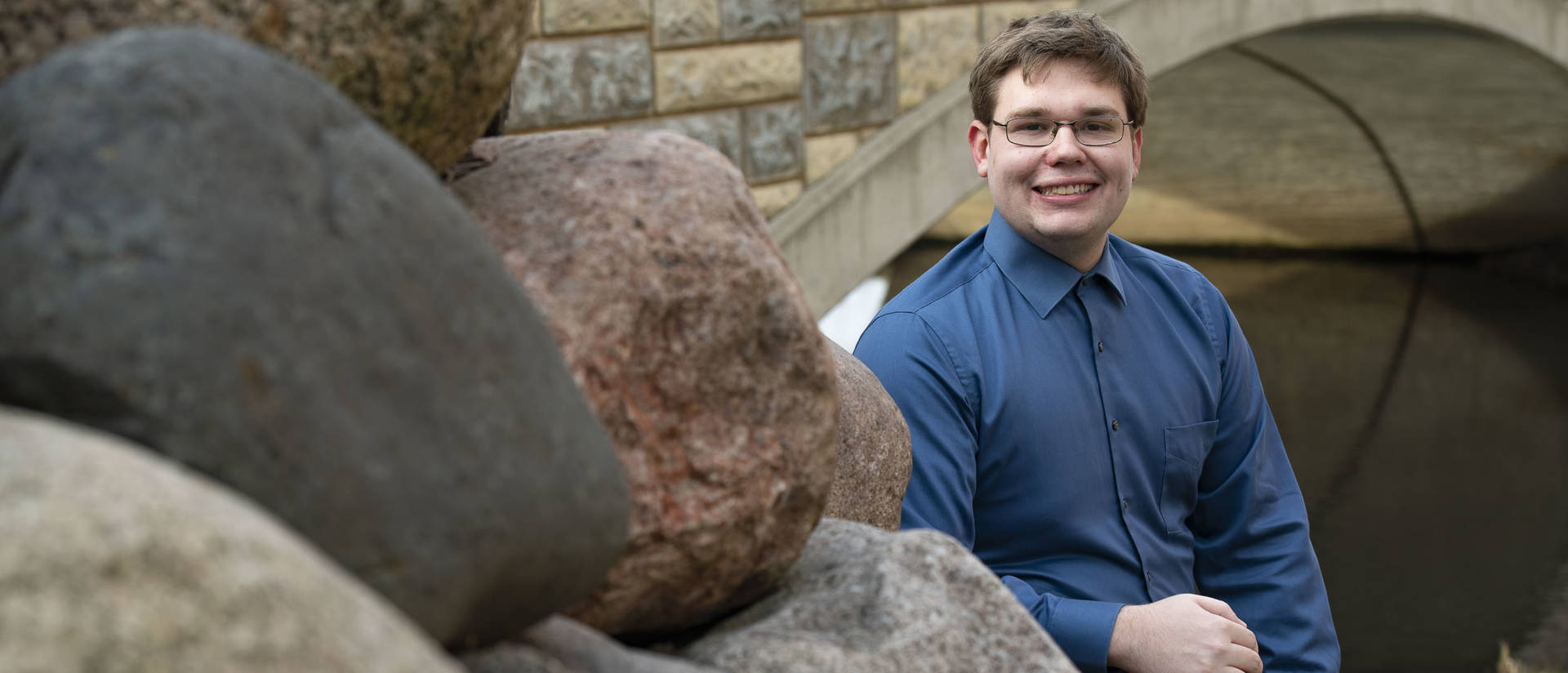 Jacob Erickson has known since elementary school that he wanted to study geology in college. As he prepares to graduate, he says his geology professors at UW-Eau Claire gave him a college experience that exceeded his already high expectations.