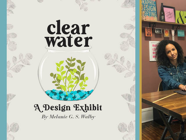 Clear Water poster, Melanie Walby