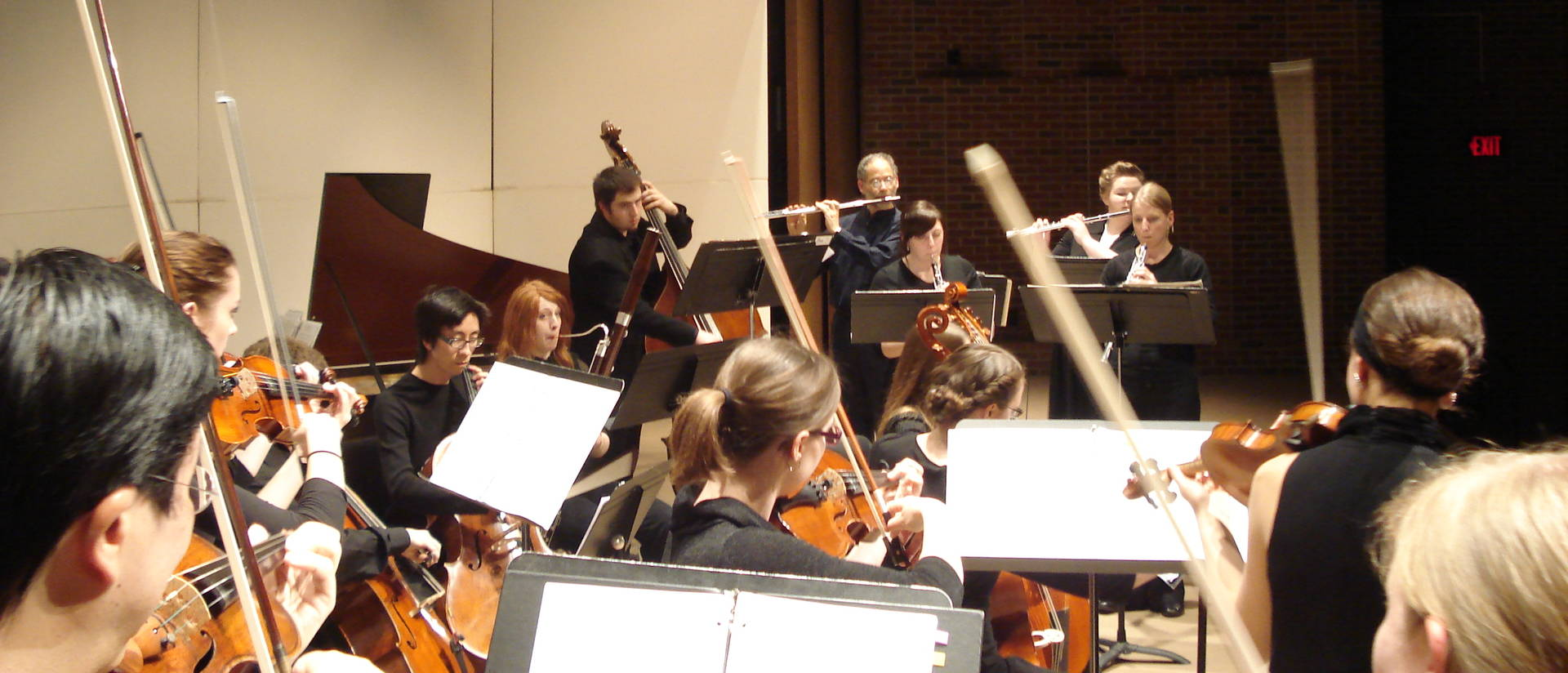 student chamber orchestra