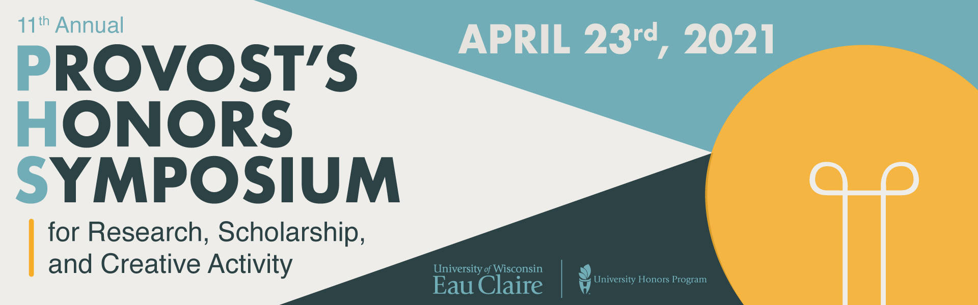 11th Annual Provost's Honors Symposium graphic