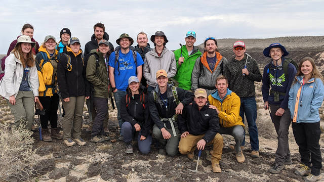 Geology Field Camp I 2020 Students