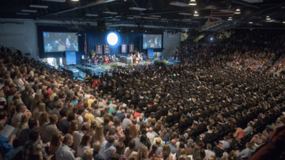 Zorn Arena - Commencement