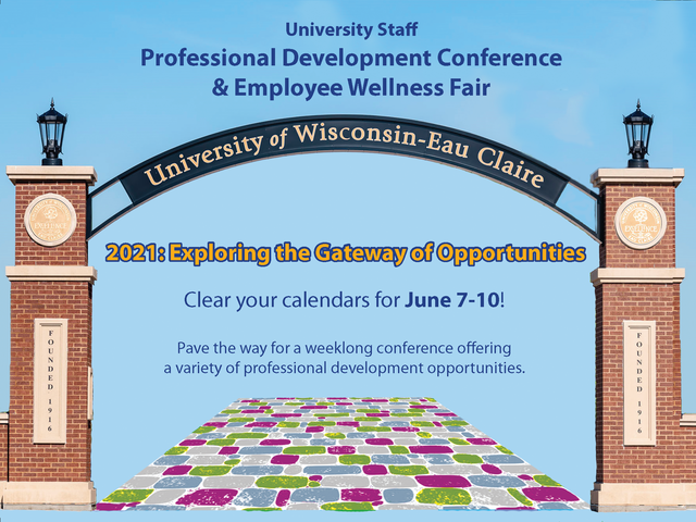 Professional Development Conference save-the-date graphic