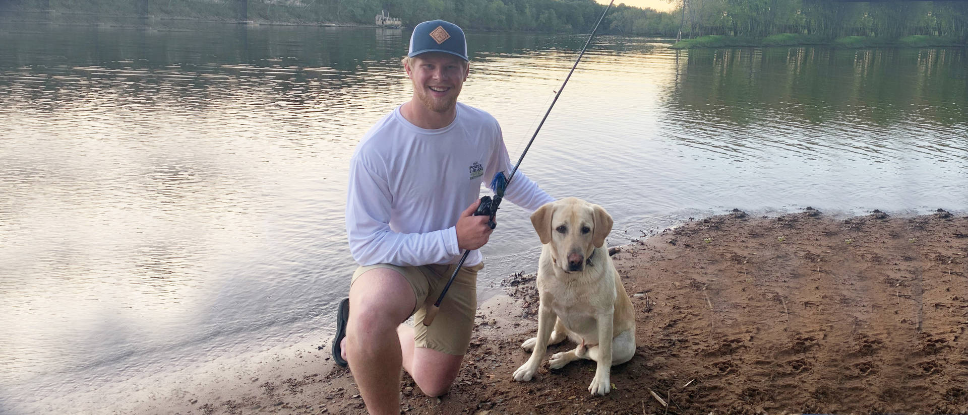 Joe Swanson has turned his passion for fishing into a thriving small business, Gold Standard Outdoors. He builds and sells custom fishing rods, something he learned to do when he was a boy.