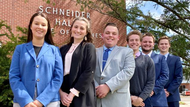 RMA Case Competition team members