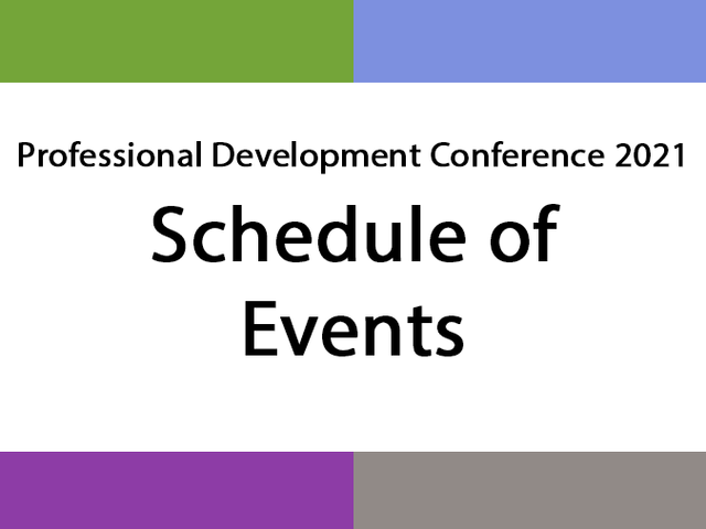 PDC events graphic