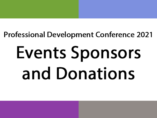 PDC sponsors graphic