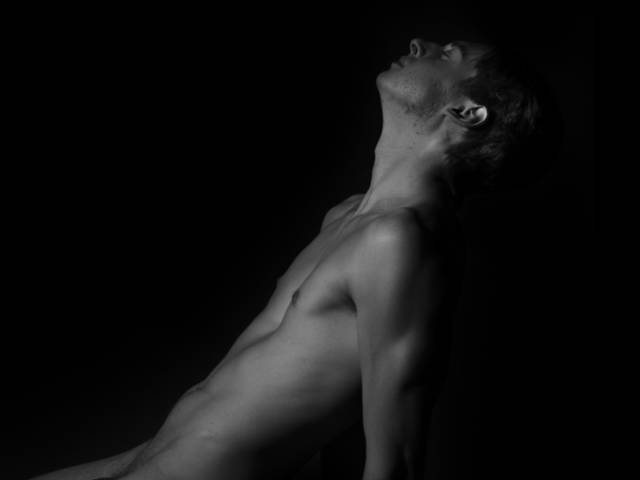 Taylor Wilkinson photograph of a male figure named Collin