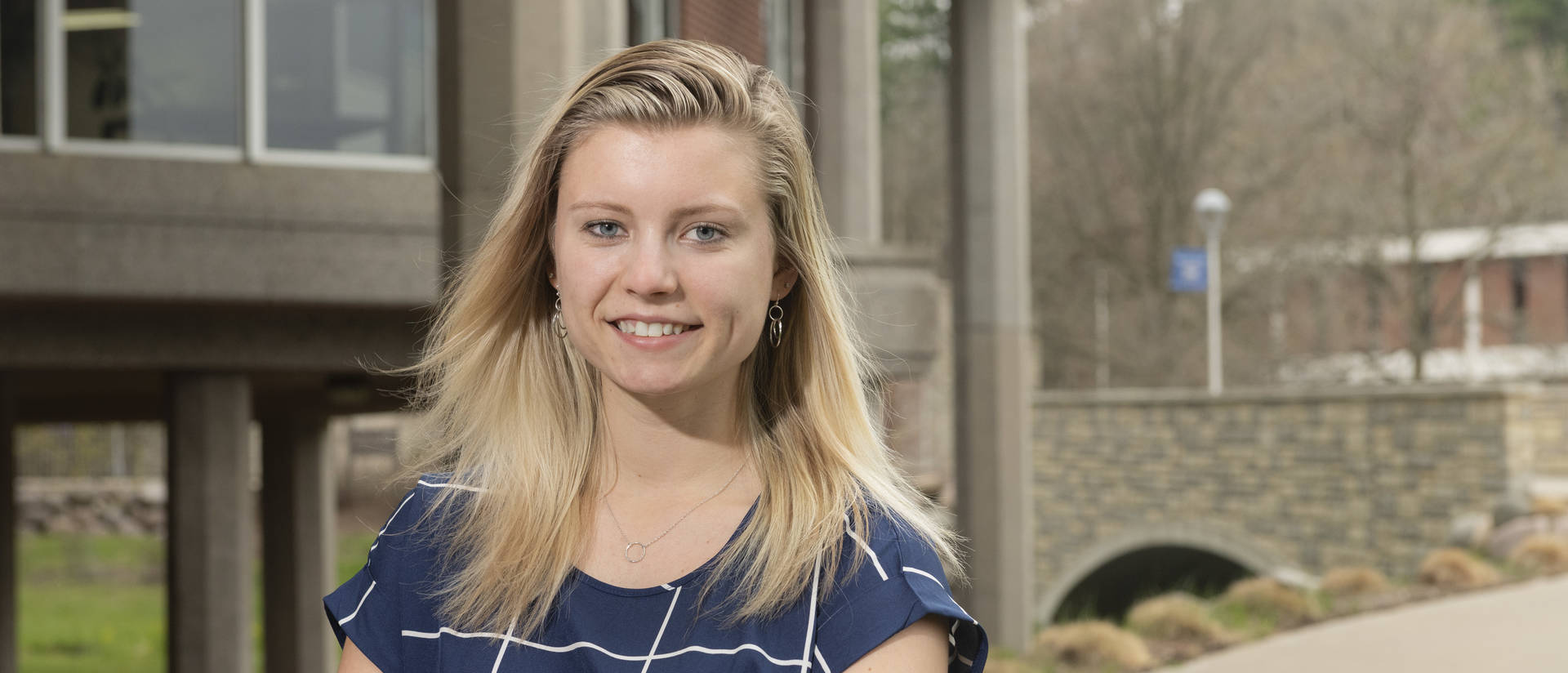 Jesselyn Nadolny, a junior with a major in Spanish teaching and a minor in history teaching, has won a national Honors fellowship award that will fund her newest research project, which builds on work she has already completed as a Blugold Fellow.