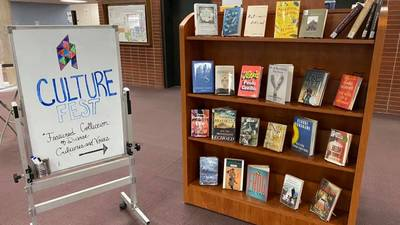 CultureFest library display