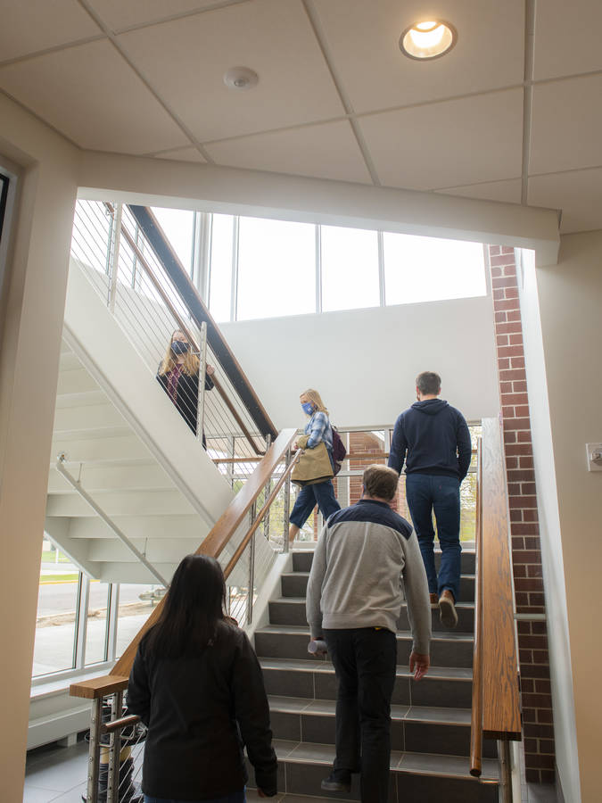 Welcome Center stairs