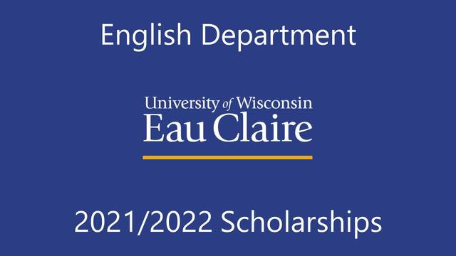 English Department 2021/2022 Scholarships