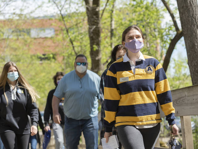 Miranda Ricci is building stronger connections with her new campus and introducing future Blugolds to UW-Eau Claire through her work with campus ambassadors.