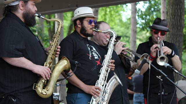 Irie Sol perfroming at Juneteenth 2019