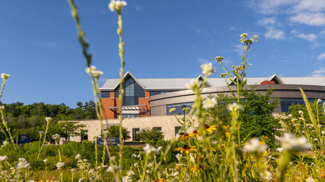 Campus beauty of Davies Center