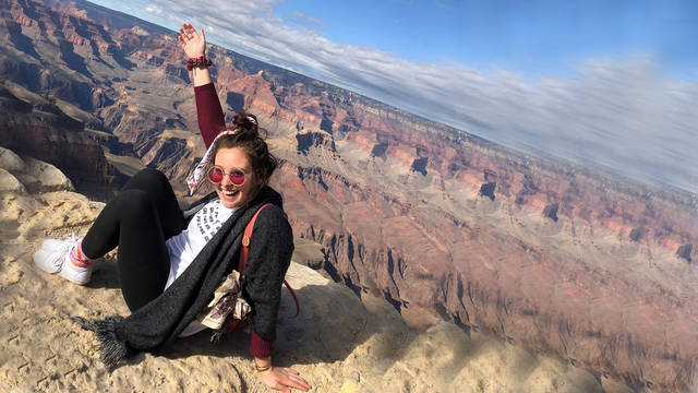 Kenzie Beam spent the spring 2020 semester studying at Northern Arizona University in Flagstaff through the National Student Exchange program.
