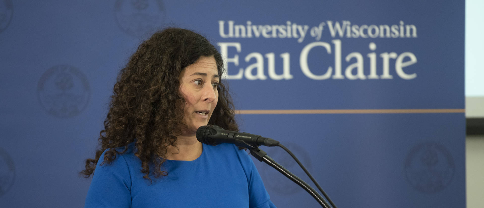 Olga Diaz, vice chancellor for equity, diversity and inclusion, and student affairs