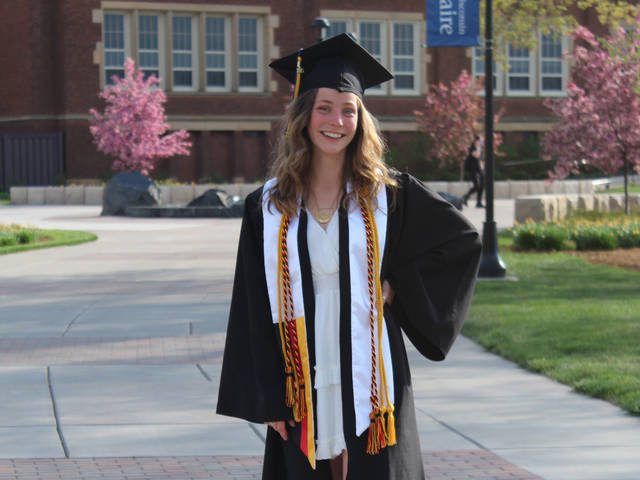 Mary Kate Schneeman, who graduated this past May, will begin her Fulbright English teaching assistantship in September.