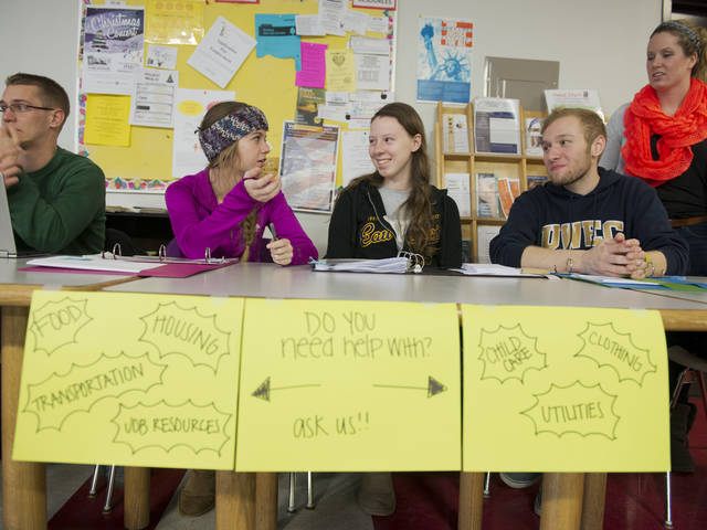 honors students develop outreach and services at the Chippewa Valley Free Clinic