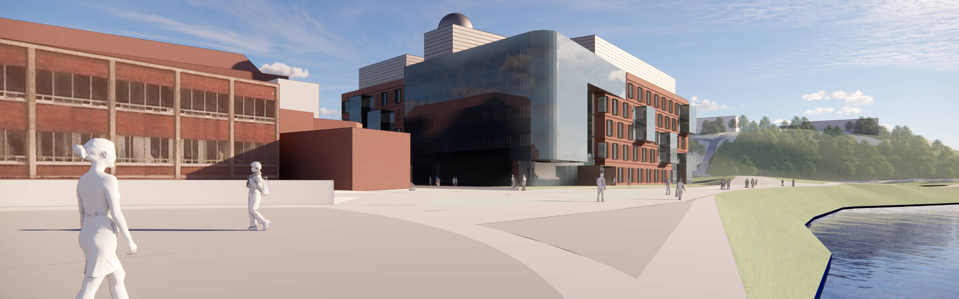 Health and Health Sciences Building Rendering 2
