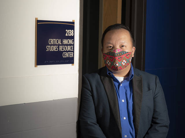 UW-Eau Claire faculty member Dr. Kong Pheng Pha is helping create a traveling exhibit that will launch in January 2025 to commemorate the 50th anniversary of Hmong resettlement to Wisconsin.