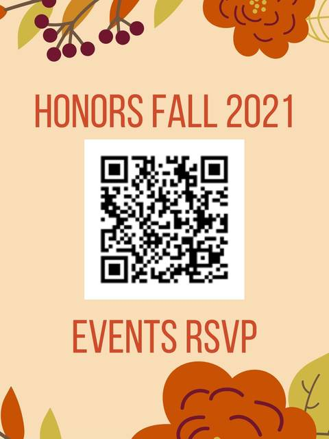 QR code for Fall 2021 Event RSVPs