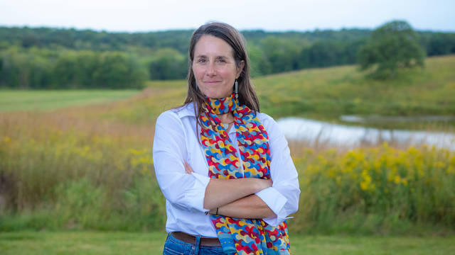 """Dr. Lisa Schulte Moore is among the 25 people named as 2021 MacArthur Fellows, an honor often described as a """"genius grant."""" Schulte Moore graduated from UW-Eau Claire in 1993 with a major in biology and chemistry and topical minors."""