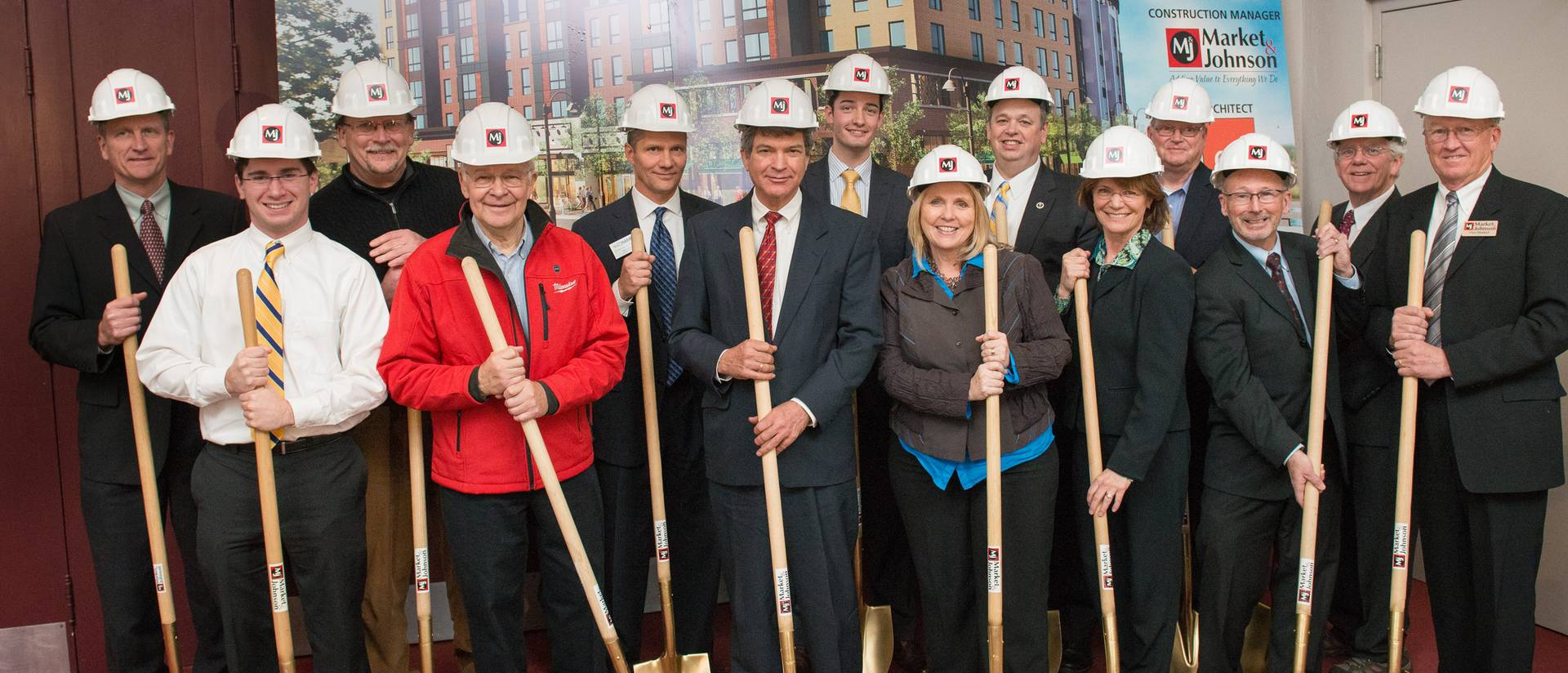 Haymarketing Landing groundbreaking ceremony