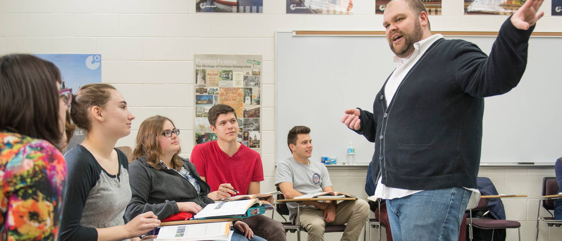 Dr. Josh Brown is being recognized nationally for his innovative teaching of German.