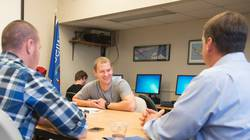 The Veterans Club is one of the many services and programs provided to student veterans at UW-Eau Claire
