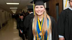 Katelyn Goettl makes history as the first triple honor grad at UW-Eau Claire