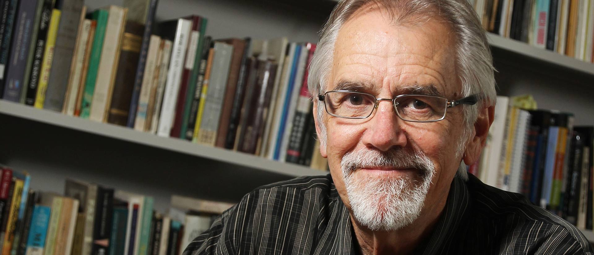 Max Garland, UW-Eau Claire professor of English, served as Wisconsin's poet laureate from January 2013 through December 2014.