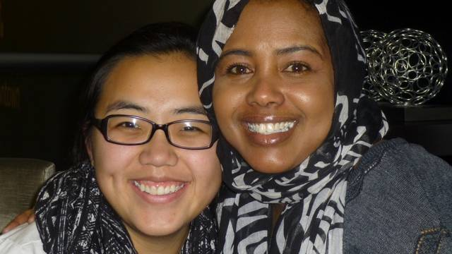 Education major Mai Lee Kha learned about the Somali culture by interacting with a number of people in the Twin Cities Somali community, including filmmaker Fathia Absie.