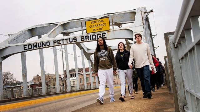 Edmund Pettis Bridge, 2015