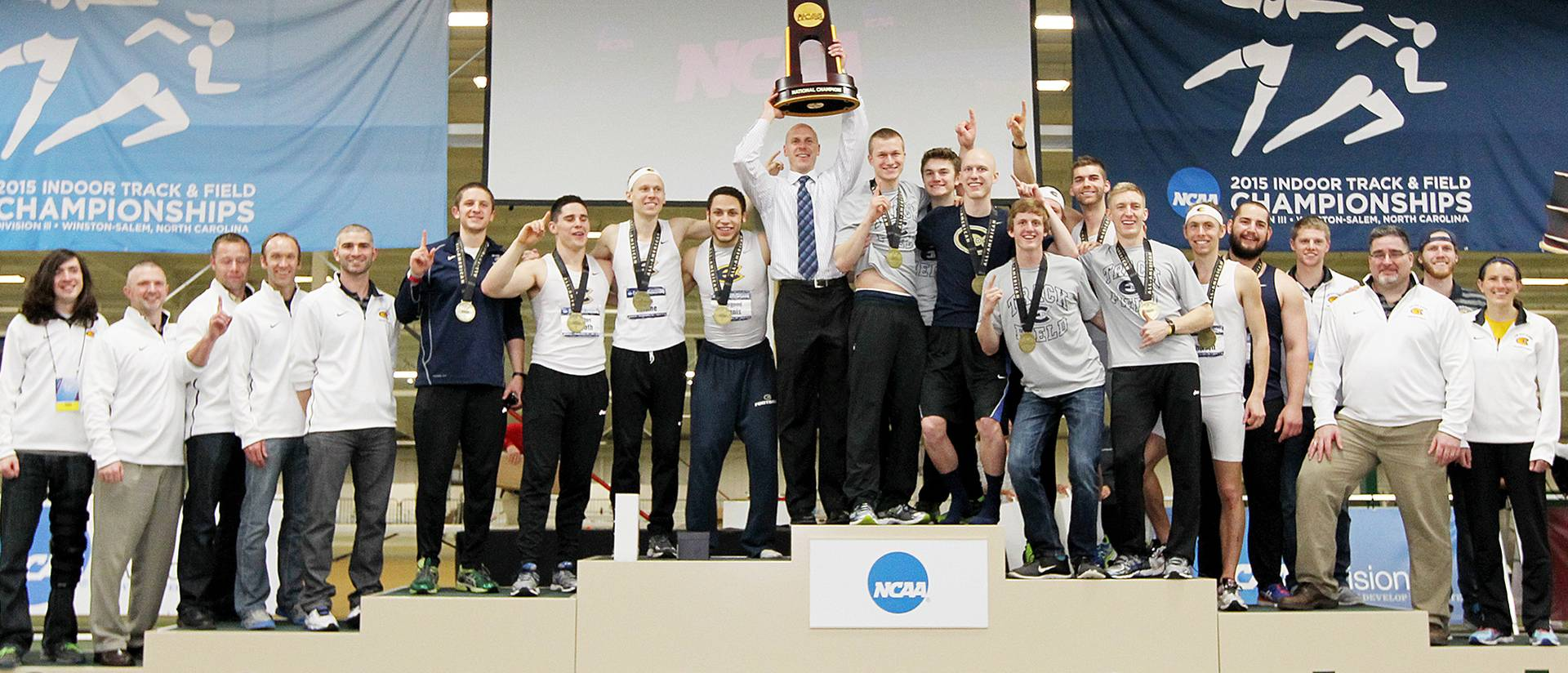 National Champions: Blugold Men's Indoor Track and Field