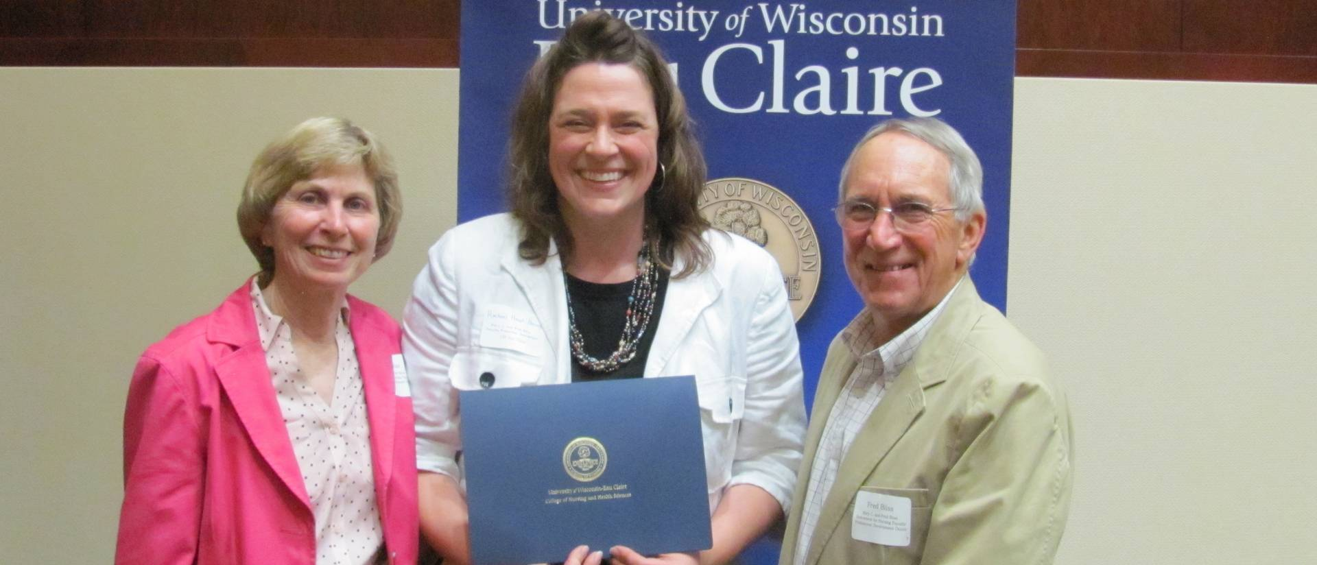 Dr. Rachael Haupt-Harrington and Mary C. and Fred Bliss
