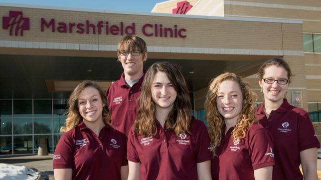 Marshfield Clinic students