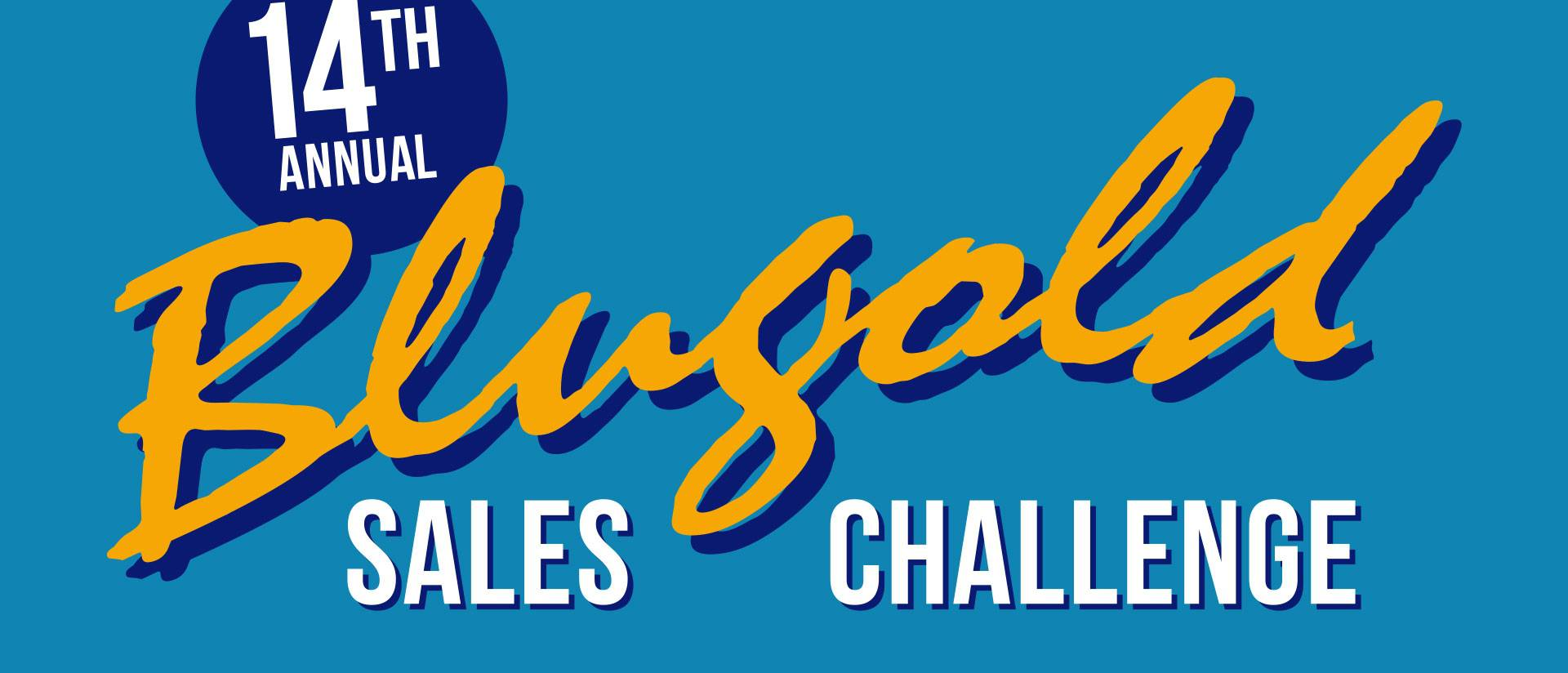 Blugold Sales Challenge graphic