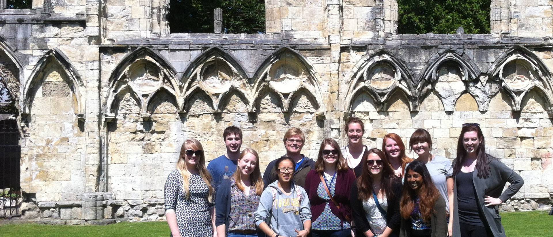 UW-Eau Claire students in England