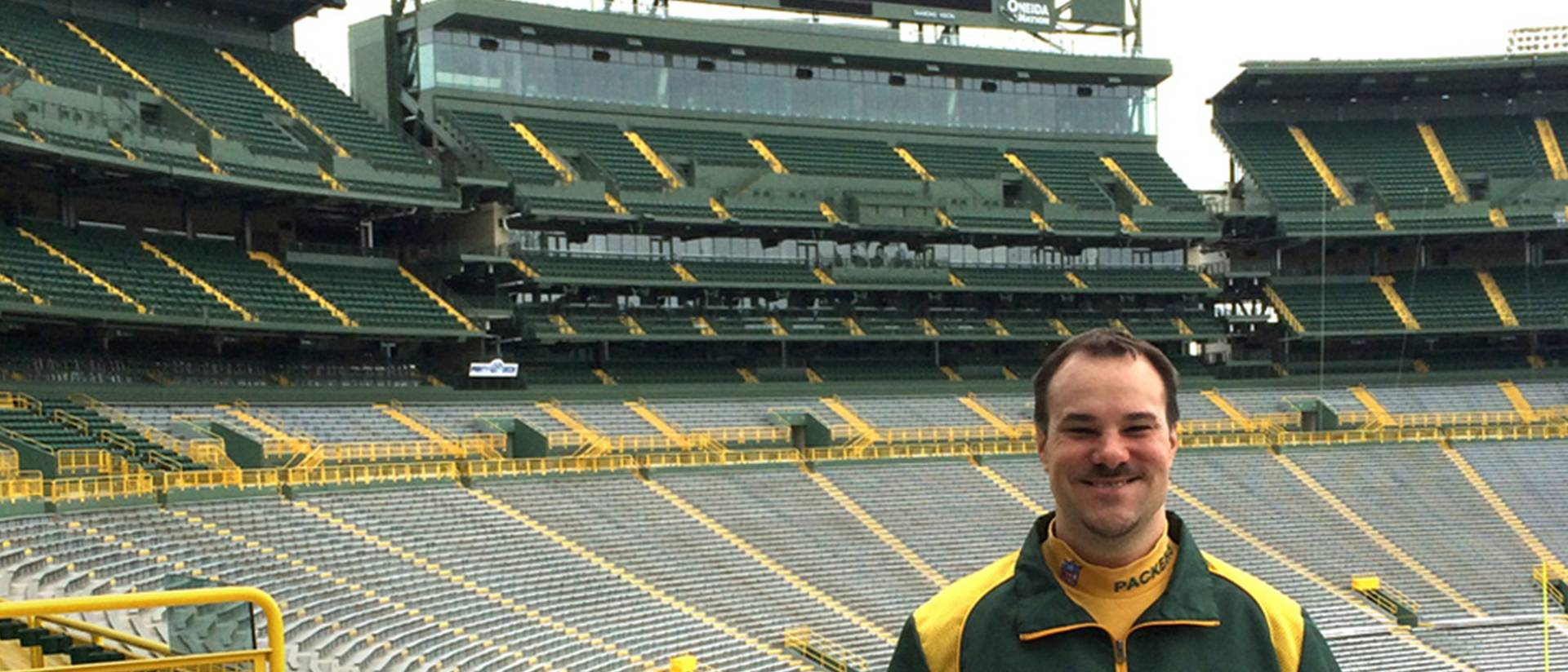 Brent Hensel, named curator of Green Bay Packers Hall of Fame